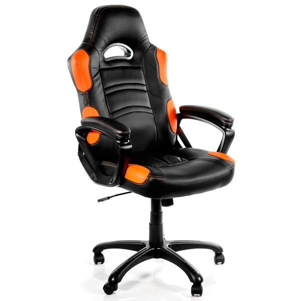 Кресло компьютерное игровое Arozzi Enzo Orange