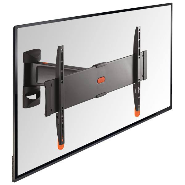 Кронштейн для ТВ наклонно-поворотный VogelsКронштейны для телевизоров наклонно-поворотные<br>Материал корпуса: металл,<br>Вид гарантии: по чеку,<br>Страна: КНР,<br>Цвет: черный,<br>Глубина до стены: 70 - 355 мм,<br>Максимальная нагрузка: 30 кг,<br>Тип крепления к подвесу: VESA 100/200/300/400,<br>Для моделей с диаг. экрана: 32 - 55,<br>Тип подвеса: поворотный,<br>Диап. регулировки по горизонт.: +/-60*<br><br>Цвет : черный