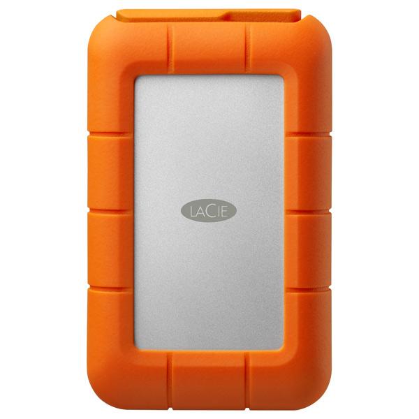 Внешний жесткий диск с Thunderbolt LaCie Rugged Thunderbolt 500GB SSD (9000491)