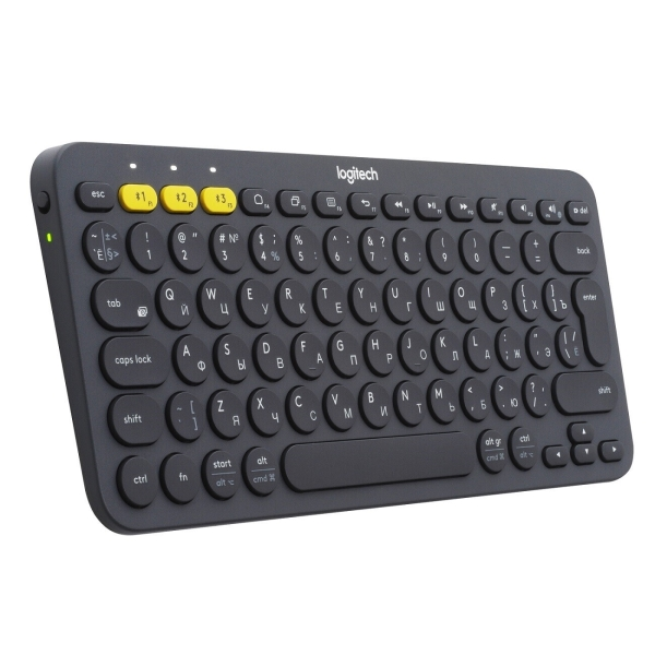 Клавиатура для микрокомпьютера Logitech K380 Dark Gray (920-007584)