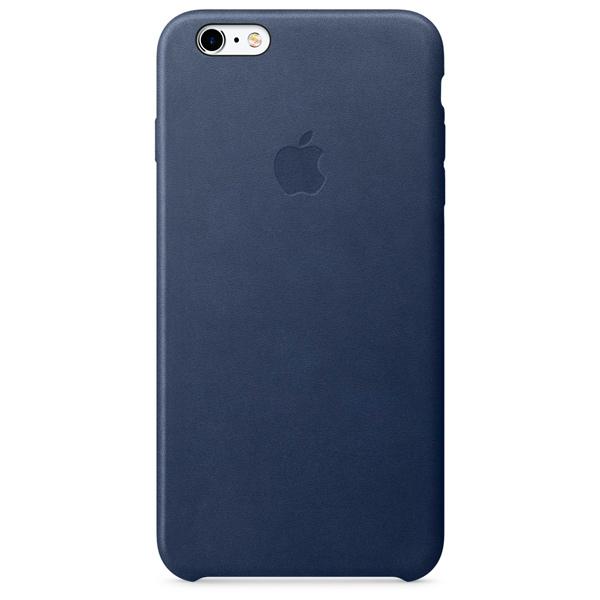 Кейс для iPhone Apple iPhone 6s Plus Leather Case Midnight Blue apple iphone 6 plus leather case midnight blue
