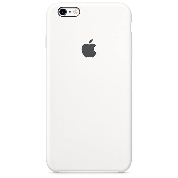 Кейс для iPhone Apple iPhone 6s Plus Silicone Case White apple leather case для iphone 6 6s plus