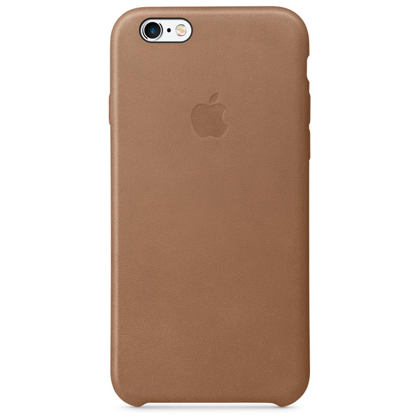 Apple iPhone 6/6s Leather Case Brown аксессуар чехол krutoff leather case для iphone 6 6s brown 10754
