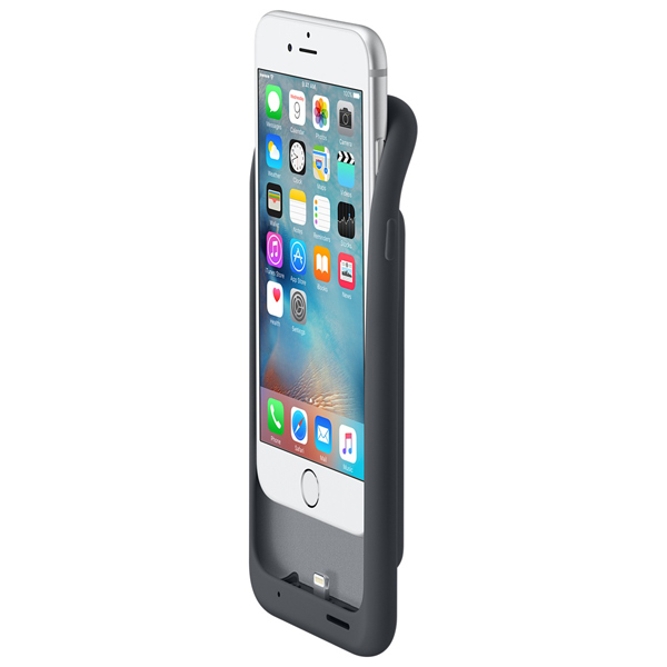 �����-����������� Apple iPhone 6s Smart Battery Case Charcoal Gray