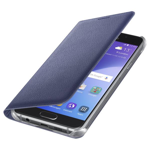 Чехол для сотового телефона Samsung Flip Wallet A3 2016 Black (EF-WA310PBEGRU) чехол для сотового телефона takeit для samsung galaxy a3 2017 metal slim металлик