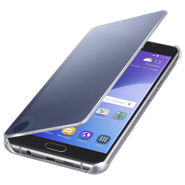 Чехол для сотового телефона Samsung Clear View Cover A5 2016 Black (EF-ZA510CBEGRU)