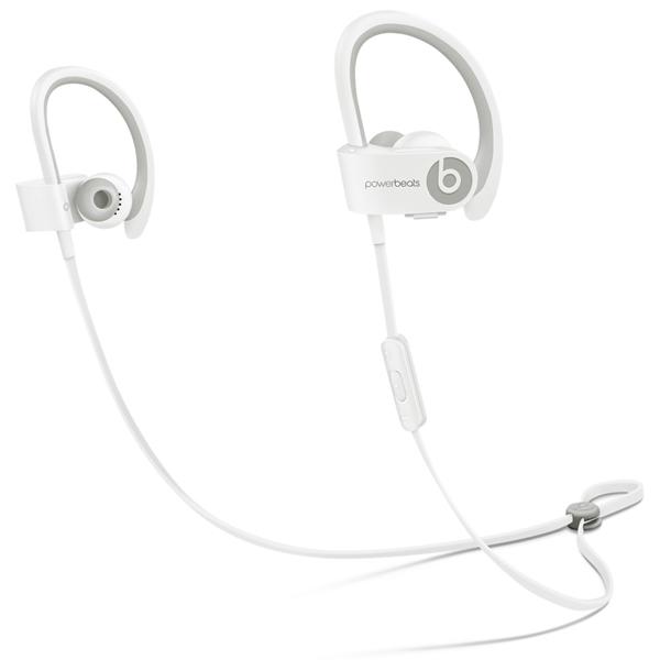 Спортивные наушники Bluetooth BeatsСпортивные наушники Bluetooth<br>Управление воспроизведением: Да,<br>Исп. в качестве гарнитуры: Да,<br>Дальность (в помещении): до 10 метров,<br>Регулировка громкости: Да,<br>Вид гарантии: по чеку,<br>Вес: 310 г,<br>Акустический тип: открытый,<br>Встроенный микрофон: 1,<br>Цвет: белый,<br>Материал корпуса: пластик,<br>Тип подключения: беспроводной Bluetooth,<br>Материал амбюшур: силикон,<br>Сопротивление: 30 Ом,<br>Страна: КНР,<br>Амбюшуры: в комплекте,<br>Чувствительность: 115 дБ,<br>Амбюшур в комплекте: 4 пары,<br>Серия: Powerbeats 2 Wireless<br><br>Вес г: 310<br>Цвет : белый