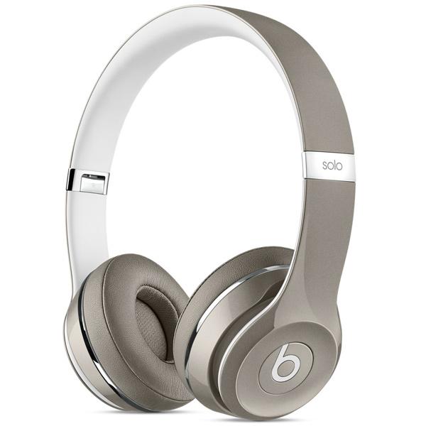 Beats Solo 2 Silver Luxe Edition (MLA42ZE/A)