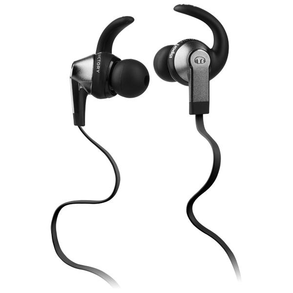 Спортивные наушники Monster iSport Victory In-Ear Black (137006-00)