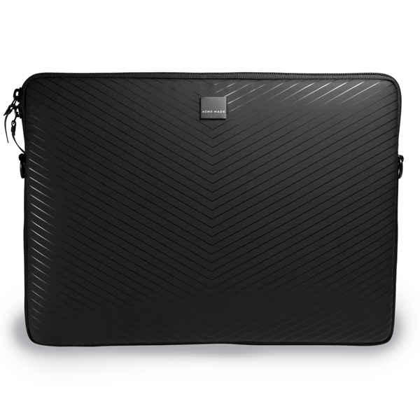 Кейс для MacBook Acme Made Smart Laptop Sleeve,MB Pro 15 Matte Black Chevron