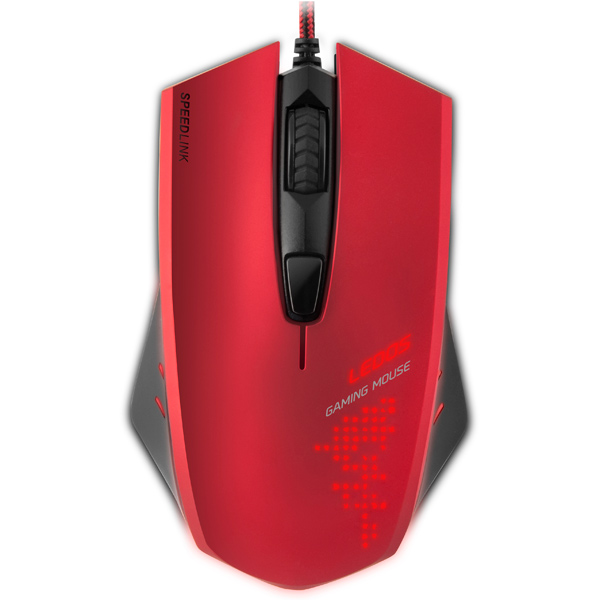 Игровая мышь SPEEDLINK LEDOS Red (SL-6393-RD)