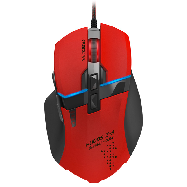 Игровая мышь SPEEDLINK KUDOS Z-9 Red (SL-6391-RD)