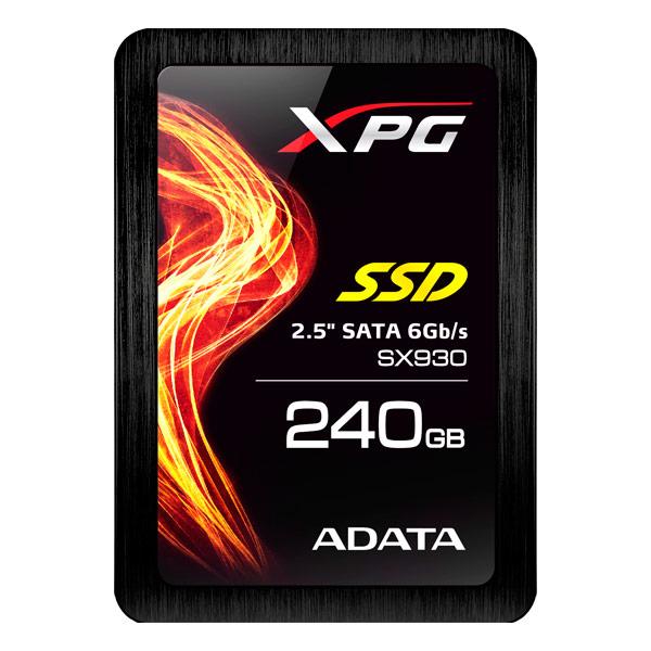 Внутренний SSD накопитель ADATAВнутренние SSD накопители<br>Страна: Тайвань,<br>Вид гарантии: по чеку,<br>Гарантия: 5 лет,<br>Серия: XPG SX930,<br>Форм-фактор: 2.5,<br>Тип флеш-памяти: MLC,<br>Наработка на отказ (часов): 1500000,<br>Интерфейс подключения: SATA III,<br>Адаптер на 3.5: доп. опция,<br>Адаптер до 9 мм: доп. опция,<br>Толщина: 7 мм,<br>Макс. скорость чтения: 560 МБ/сек,<br>Жесткий диск (SSD): 240 ГБ,<br>Макс. скорость записи: 460 МБ/сек<br>