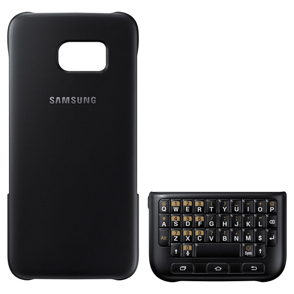 Чехол для сотового телефона Samsung Keyboard Cover S7 Edge Black (EJ-CG935UBEGRU) samsung keyboard cover s7 black ej cg930ubegru