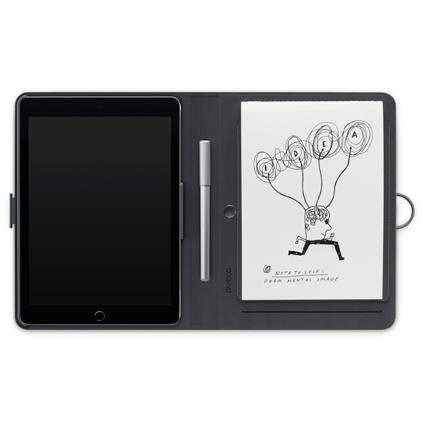 Wacom, Планшет, Bamboo Spark snap-fit iPadAir2 (CDS-600C )