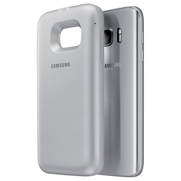 Чехол-аккумулятор Samsung Backpack Cover S7 Silver (EP-TG930BSRGRU)
