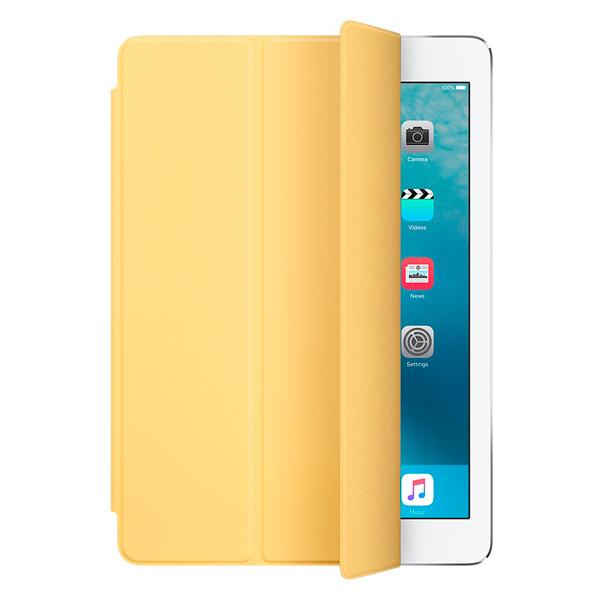 Кейс для iPad Pro AppleКейсы для iPad<br>Вид гарантии: по чеку,<br>Страна: КНР,<br>Цвет: желтый,<br>Материал корпуса: полиуретан/ микрофибра,<br>Кейс д/пл. комп.: iPad Pro 9.7,<br>Настольная подставка: встроенная,<br>Базовый цвет: другие цвета,<br>Вертикальное размещение: Да,<br>Магниты AutoWake: Да,<br>Серия: Smart Cover,<br>Горизонтальное размещение: Да<br><br>Цвет : желтый