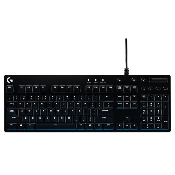 Игровая клавиатура Logitech G610 Orion Brown (920-007865) logitech gaming keyboard g610 orion mechanical cherry mx brown