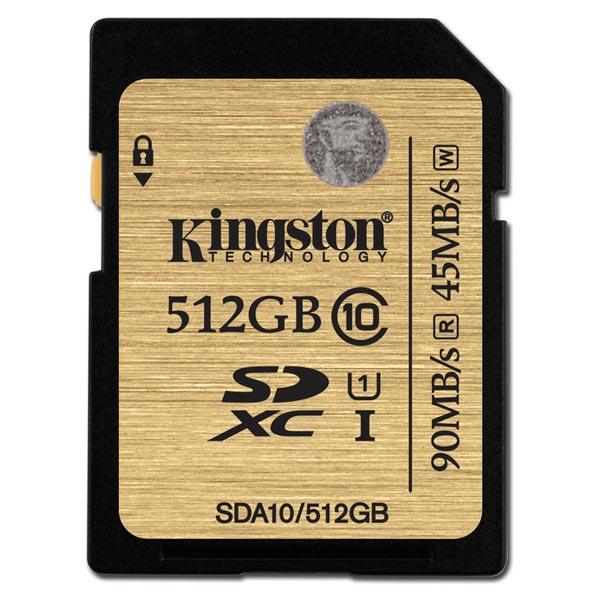 Карта памяти SDHC KingstonКарты памяти SDHC<br>Класс: 10,<br>UHS: класс 1,<br>Объем карты памяти: 512 ГБ,<br>Серия: Class 10,<br>Назначение: проф. фото/видео Full HD,<br>Вид гарантии: по чеку,<br>Макс. скорость передачи данных: 90 МБ/сек,<br>Тип карты памяти: SDXC,<br>Страна: Тайвань,<br>Цвет: черный,<br>Гарантия: 10 лет,<br>Выдвижной язычок защиты: Да<br>