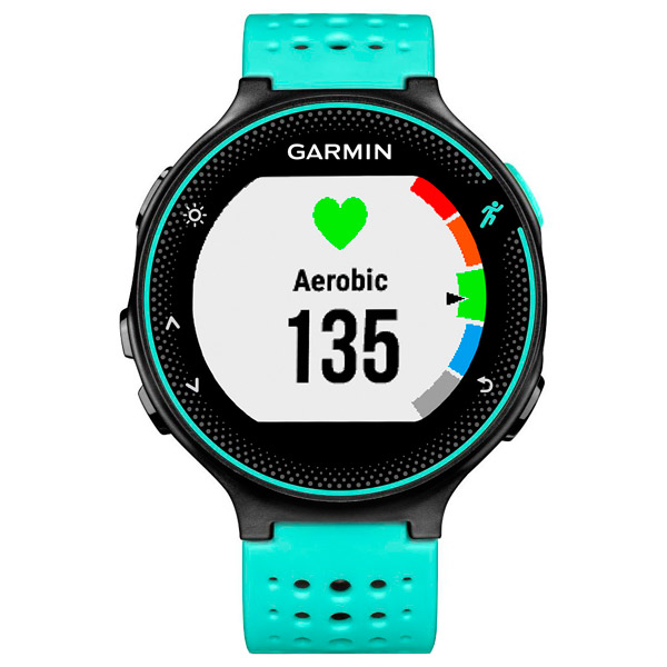 Спортивные часы Garmin Forerunner 235 Black/Frost Blue (010-03717-49) умные часы garmin forerunner 235 black grey 010 03717 55
