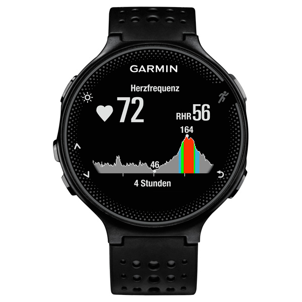 Спортивные часы Garmin Forerunner 235 Black/Gray (010-03717-55) умные часы garmin forerunner 235 black grey 010 03717 55
