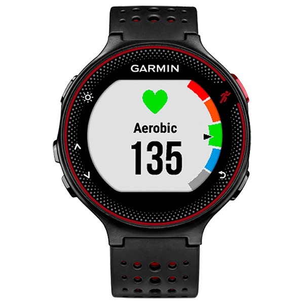 Спортивные часы Garmin Forerunner 235 Black/Marsala Red (010-03717-71) умные часы garmin forerunner 235 black grey 010 03717 55
