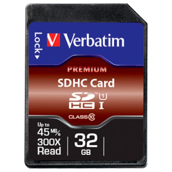 Карта памяти SDHC Verbatim