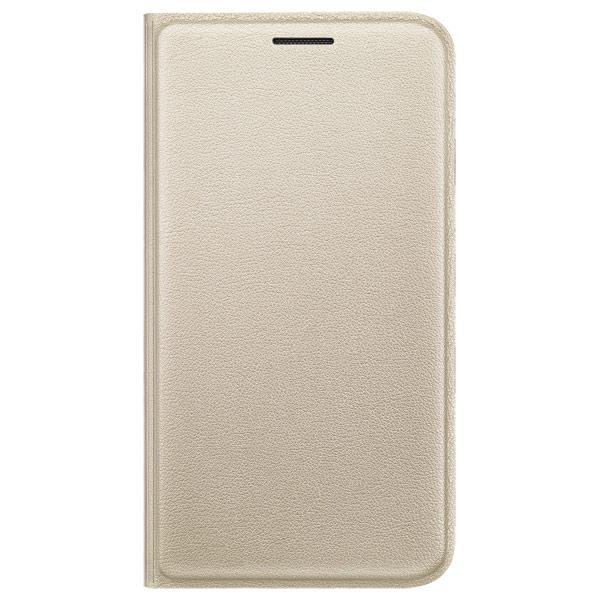 Чехол для сотового телефона Samsung Flip Cover J1 Mini Gold (EF-FJ105PFEGRU) аксессуар чехол samsung sm j105 galaxy j1 mini flip cover gold ef fj105pfegru
