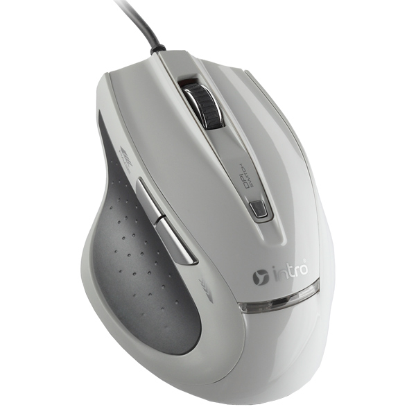 Игровая мышь Intro MU107G Gaming Basic White