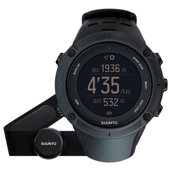 Спортивные часы Suunto Ambit3 Peak Black (HR) (SS020674000)