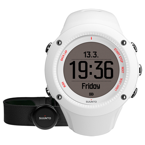 Спортивные часы Suunto Ambit3 Run White (HR) (SS021259000)
