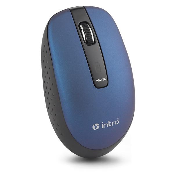 Мышь беспроводная Intro MW540 Blue