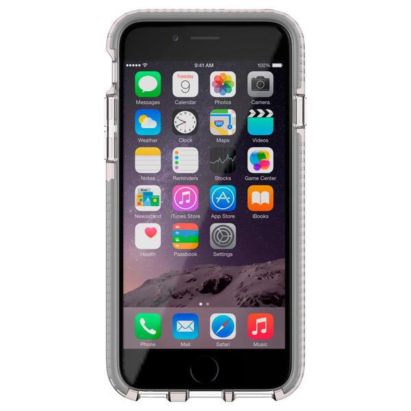Кейс для iPhone Tech21 T21-5094 Clear/Grey кейс для iphone tech21 t21 5396 black