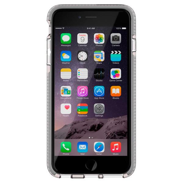 Кейс для iPhone Tech21 T21-5095 Clear/Grey кейс для iphone tech21 t21 5396 black