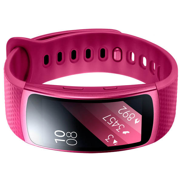 Smart Браслет Samsung Gear Fit 2 SM-R360 Pink. Доставка по России