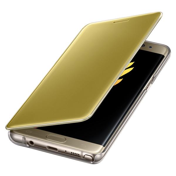 Чехол для сотового телефона SamsungЧехлы для телефонов<br>Материал чехла: поликарбонат,<br>Для моделей с диаг. экрана: 5.7,<br>Тип корпуса: книжка,<br>Кейс для смартфона: Samsung Galaxy Note 7 (SM-N930),<br>Вес: 54 г,<br>Вид гарантии: по чеку,<br>Количество в упаковке: 1 шт,<br>Серия: Clear View Cover,<br>Горизонтальное размещение: Да,<br>Количество отделений: 1,<br>Автоматическое включение экрана: Да,<br>Страна: Вьетнам,<br>Отверстие для подзарядки: Да,<br>Цвет: желтый,<br>Отверстие для гарнитуры: Да,<br>Прозрачный чехол: Да,<br>Отв. для встр. камеры: Да<br><br>Вес г: 54<br>Цвет : желтый