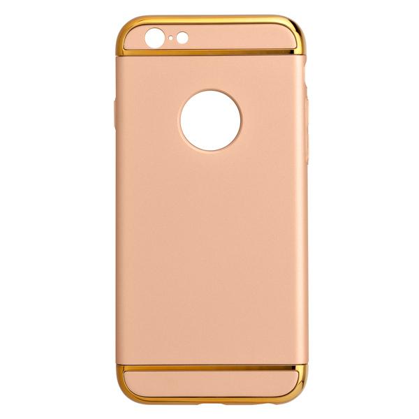Кейс для iPhone iBox для 6/6s Plus Element золот.рамка (МВ000000047)