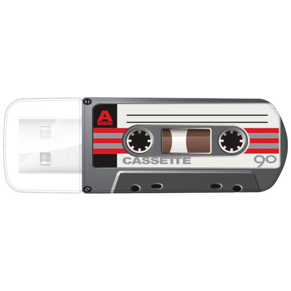 Флэш диск Verbatim Mini Casette Edition Black 32GB (49391)
