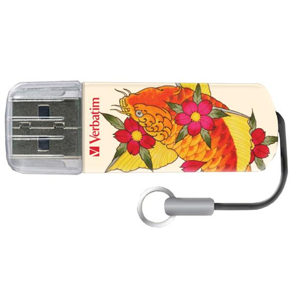 Флэш диск Verbatim Mini Tattoo Edition Рыба 32GB (49897)
