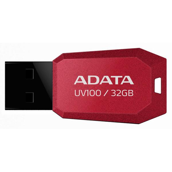 Флэш диск ADATA UV100 Red 32GB (AUV100-32G-RRD)
