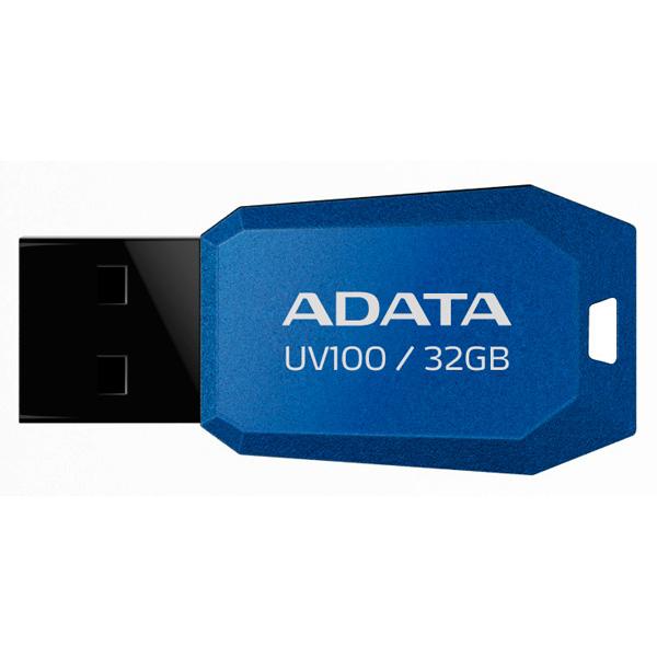 Флэш диск ADATA UV100 Blue 32GB (AUV100-32G-RBL)