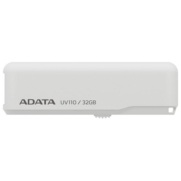 Флеш-диск ADATA UV110 White 32GB (AUV110-32G-RWH)