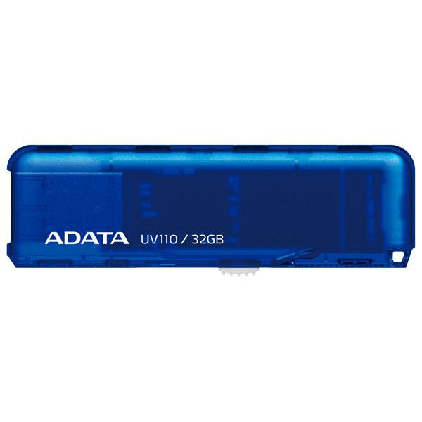 Флеш-диск ADATA UV110 Blue 32GB (AUV110-32G-RBL)