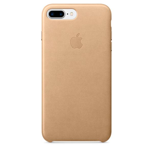 Кейс для iPhone Apple iPhone 7 Plus Leather Case Tan (MMYL2ZM/A)