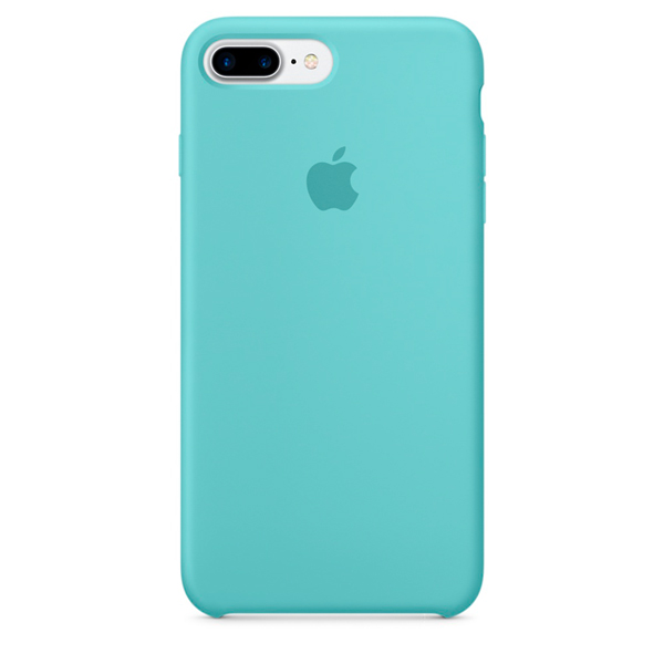 Кейс для iPhone Apple iPhone 7 Plus Silicone Case Sea Blue (MMQY2ZM/A)