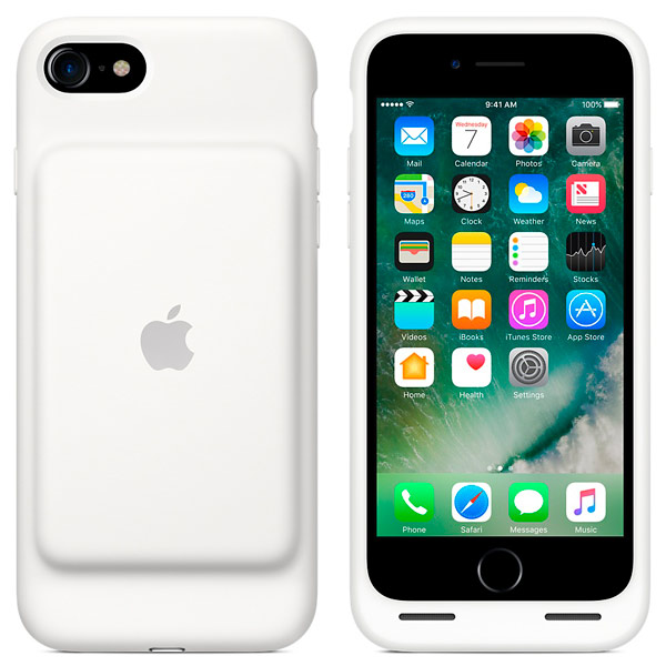 Apple iPhone 7 Smart Battery Case White (MN012ZM/A)