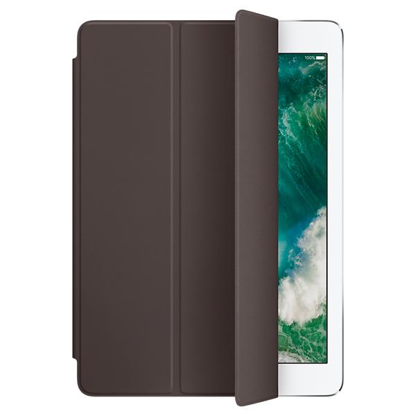 Кейс для iPad Pro AppleКейсы для iPad<br>Серия: Smart Cover,<br>Вертикальное размещение: Да,<br>Настольная подставка: встроенная,<br>Базовый цвет: коричневый,<br>Страна: КНР,<br>Кейс д/пл. комп.: iPad Pro 9.7,<br>Вид гарантии: по чеку,<br>Материал корпуса: полиуретан/ микрофибра,<br>Магниты AutoWake: Да,<br>Цвет: коричневый,<br>Горизонтальное размещение: Да<br><br>Цвет : коричневый