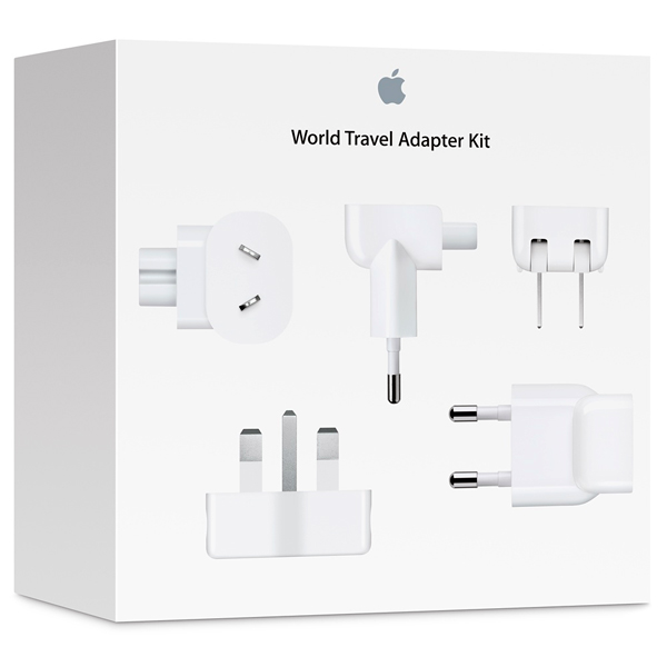 Сетевое зарядное устройство Apple компл.адаптеров World Travel Adapt.Kit(MD837ZM/A)
