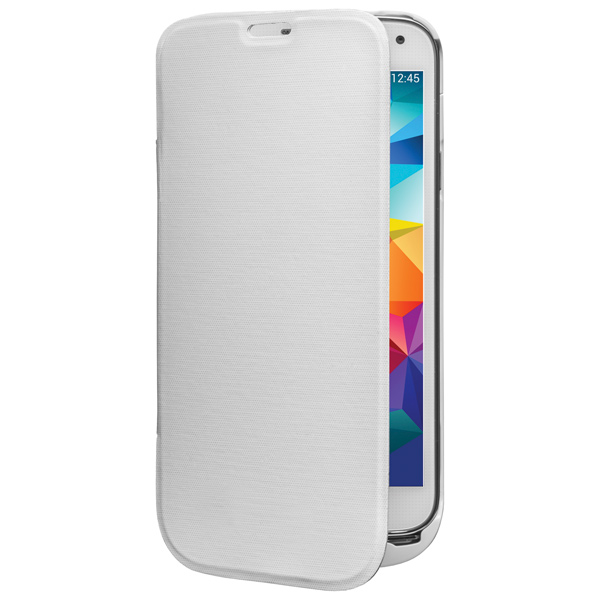 Чехол-аккумулятор InterStep для Galaxy S5 White (IS-AK-PCS5FLPWT-000B201)