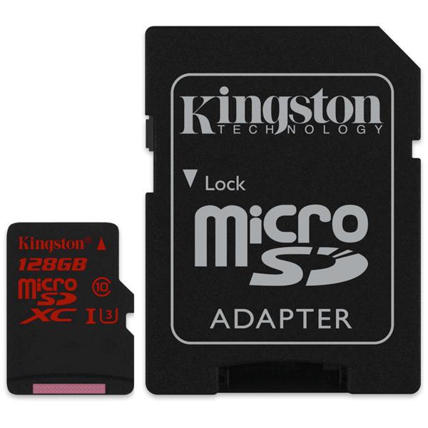 Карта памяти SDHC Micro Kingston